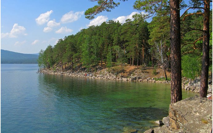 Лечебное озеро Тургояк
